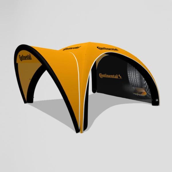 oppblåsbart Quick-up telt fra Brectus 7
