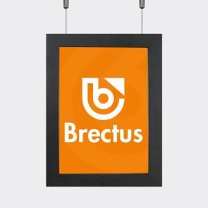 Brectus Plakatramme LED Premium