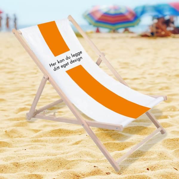 Strandstol med trykk, liggestol, liggestol med trykk, fluktstol, fluktstol med trykk, solstol, solstol med trykk, solseng, solseng med trykk 3