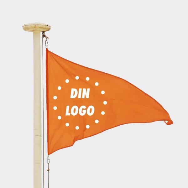 Logovimpel, reklamevimpel, vimpel med trykk, vimpel med logo 1