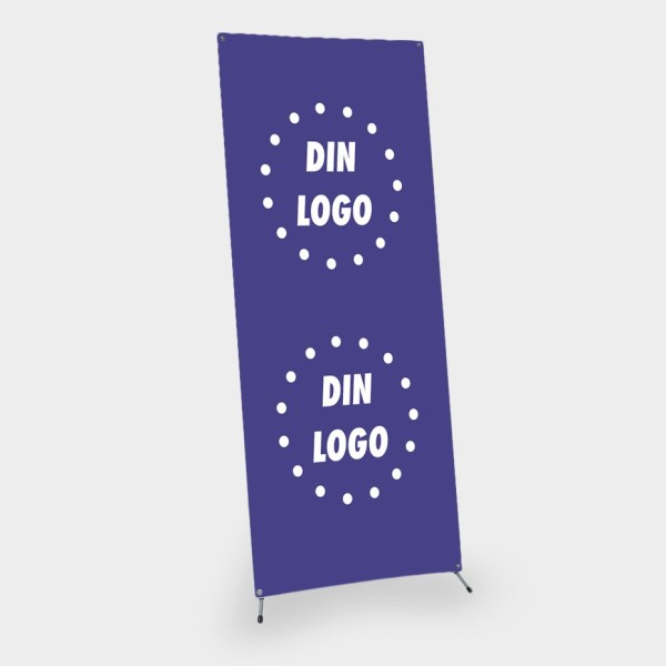 banner, x banner, x-banner, xbanner, frittstående reklameplakat, portabelt system