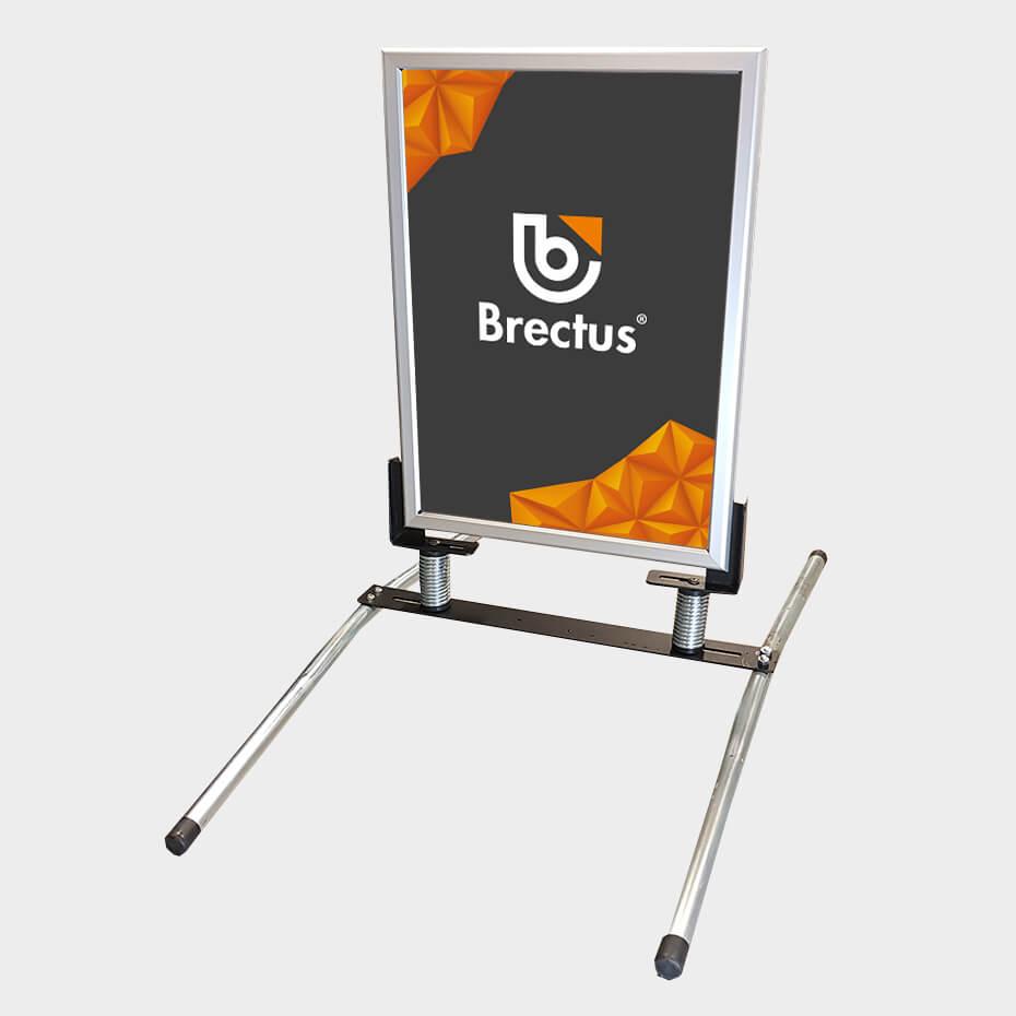 demo produkter / outlet gatebukk hardfør 50x70 big metal base