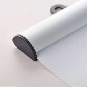 Aluminiumsprofil topp - bunn - klips for oppheng