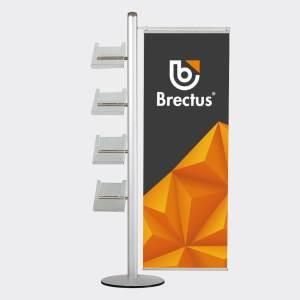 Brectus Broschyrställ Multi-Stand