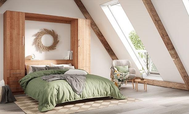 modern murphy beds smart space saving