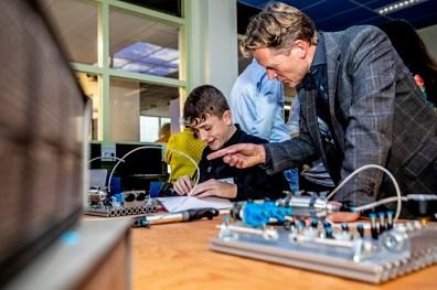 Opening Techlab Bredero-CollegeFoto ; Pim Ras