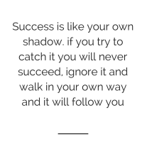 {weekly words of wisdom} success