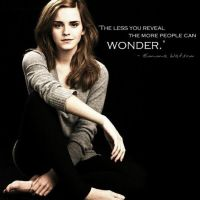 {weekly words} emma watson