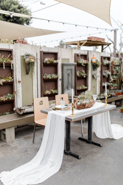 Carlsbad California Wedding Photography | Succulent Cafe Styled Shoot by Bree and Stephen Photography | San Diego, CA Wedding Photography by Bree + Stephen