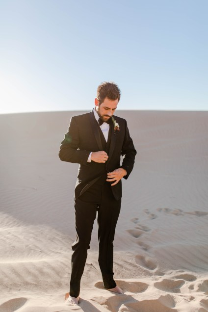 Glamis Sand Dunes Elopement | California Elopement Photography