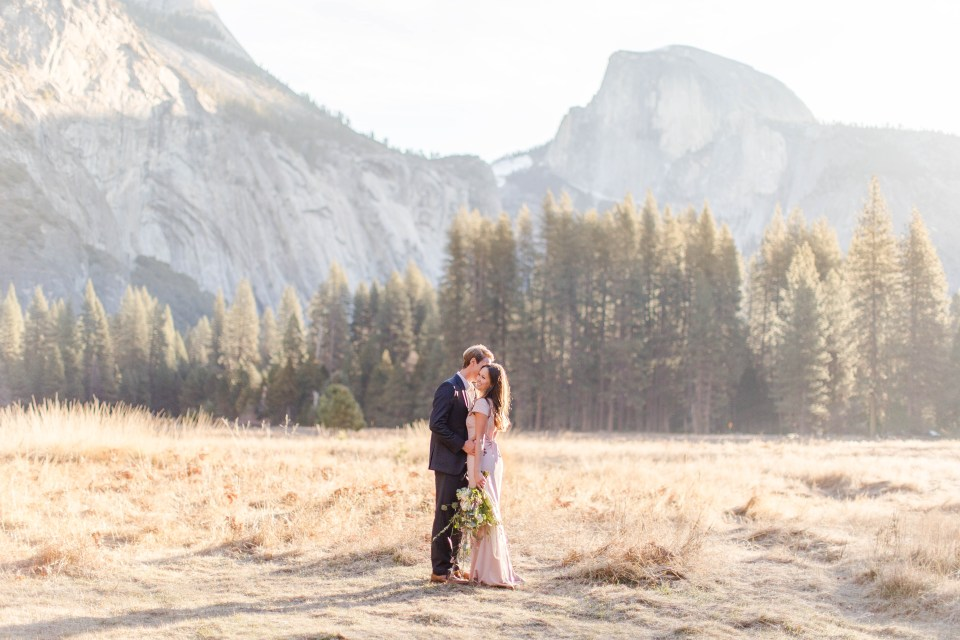 Engagement photos in Yosemite National Park - California Elopement Photography