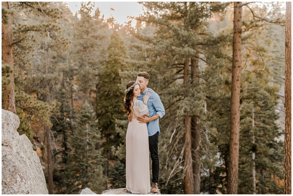engagement photos in the mountains. Big Bear Engagement Photography Session