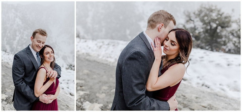 Mt Baldy Engagement Photography Session by bree and stephen