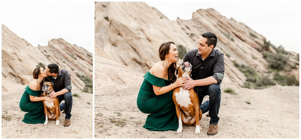 engagement photos with your dog