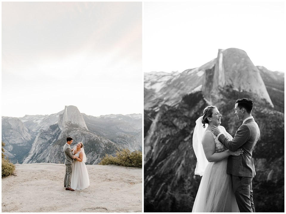 wedding pictures in yosemite
