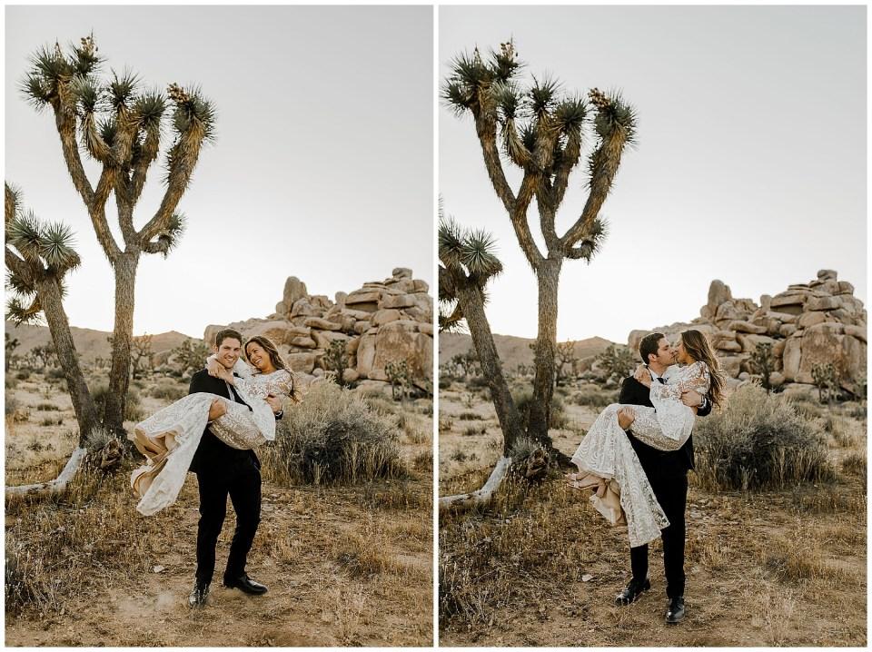joshua tree wedding pics