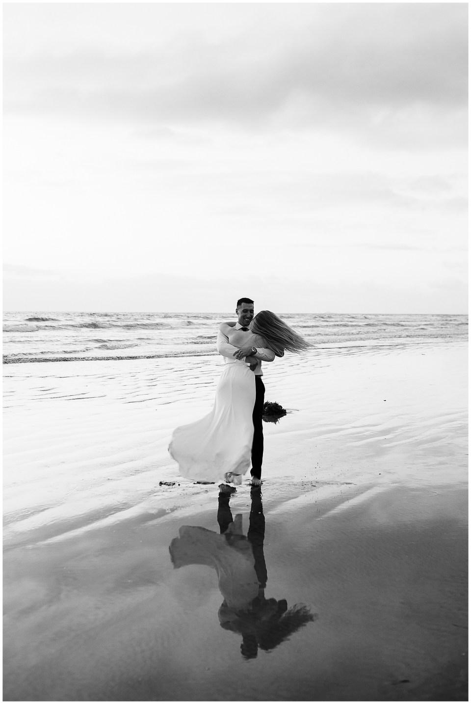 California elopement ideas - carlsbad beach elopement