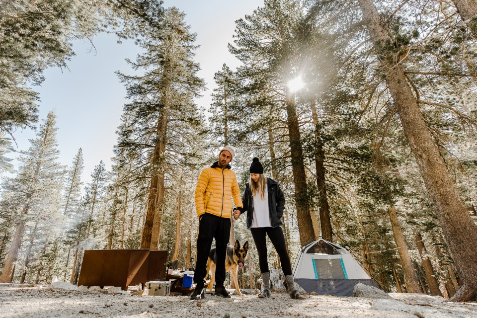 airbnb mammoth lakes - lake george campground