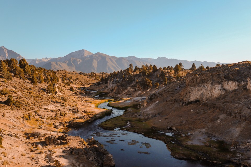 airbnb mammoth lakes - Hot Creek Geological Site