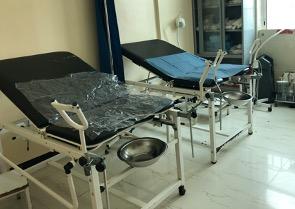 Hospital beds in a Yemeni hospital, Breech Birth in Yemen