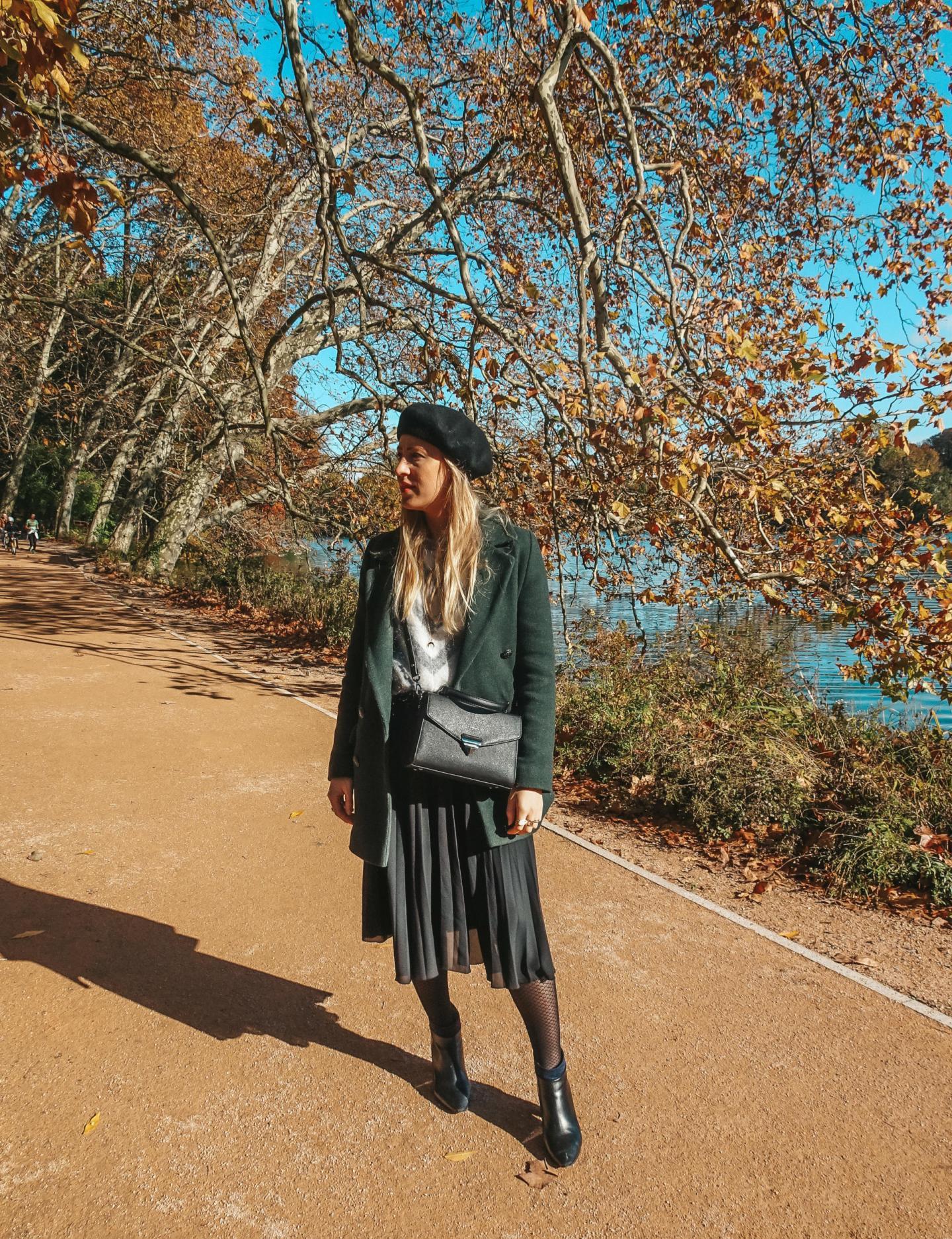 jupe longue en automne/hiver