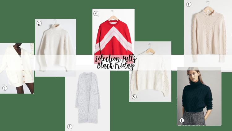 sharefashion - sélection pulls black friday 2018