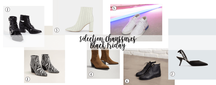 sharefashion - sélection chaussures black friday 2018