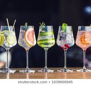 Copas de cocktail