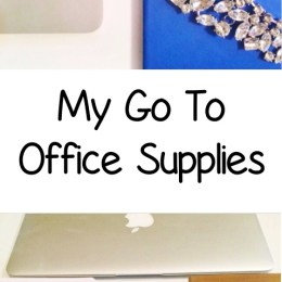 My Go To Office Supplies