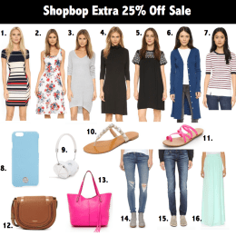 Shopbop 25% off Sale!