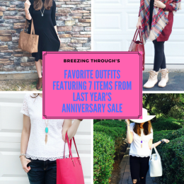 NSale Series: My Favorite Outfits Featuring 7 Items From Last Year's Anniversary Sale