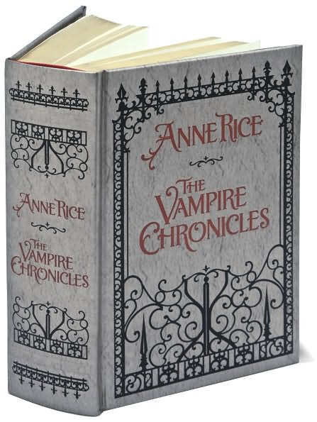 Anne Rice Vampire Chronicles Presented in Order
