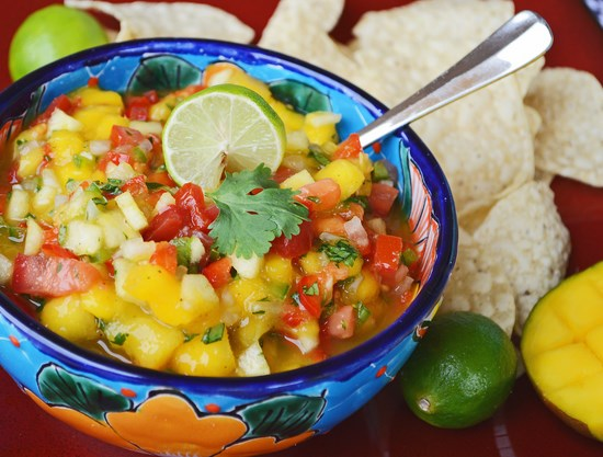 Mango Green Apple Salsa