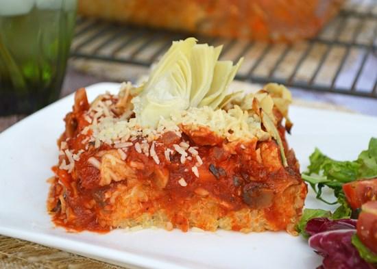 Quinoa Italian Bake