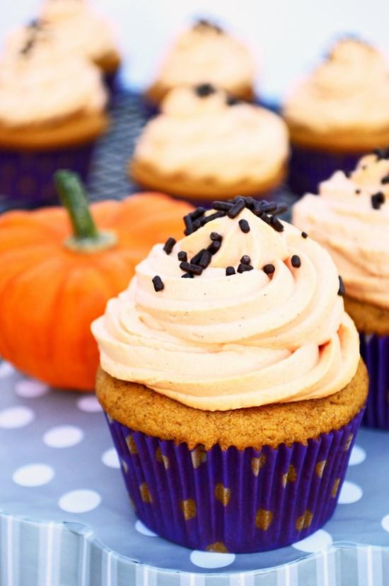 Gluten Free Pumpkin Cupcake