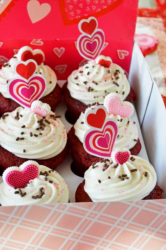 Gluten Free Cupcakes Red Velvet Valentines