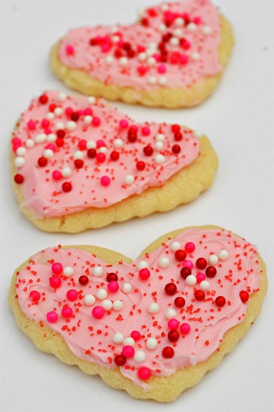 gluten free valentines sugar cookies