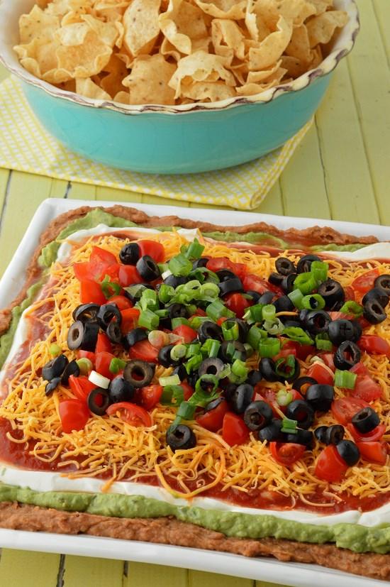 seven layer dip gluten free