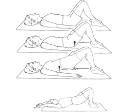 Picture 10 Postpartum Exercises for the C Section Mama
