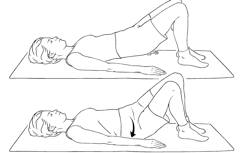 Picture 13 Postpartum Exercises for the C Section Mama