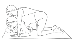 Picture 8 Postpartum Exercises for the C Section Mama