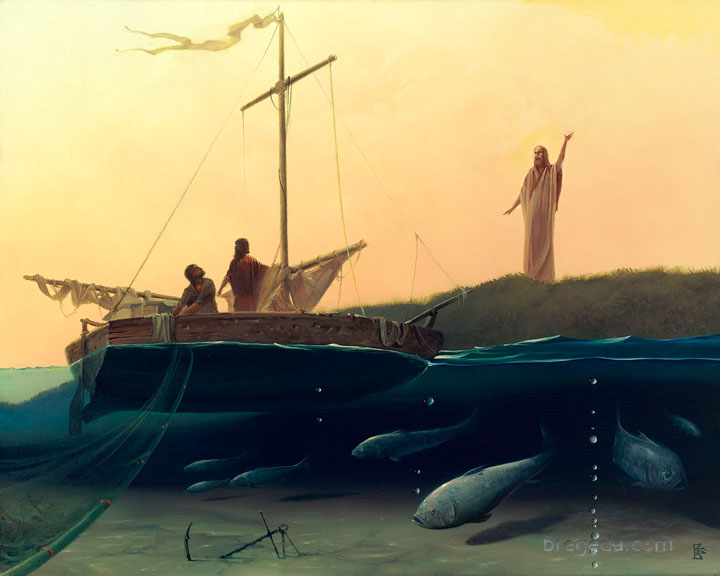 Image result for fishers of men painting