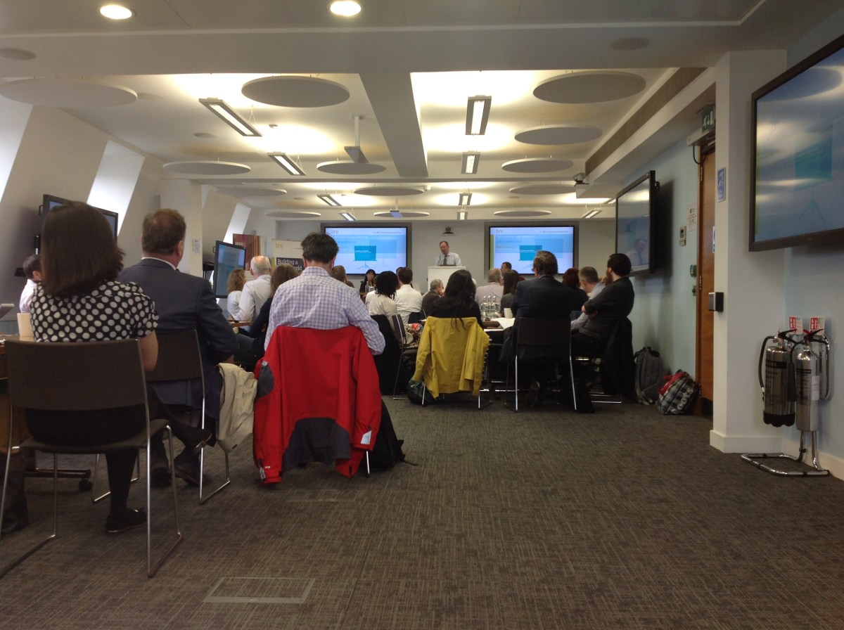 Indoor air pollution working group launch