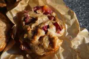 Pflaumenmuffins ohne Zucker