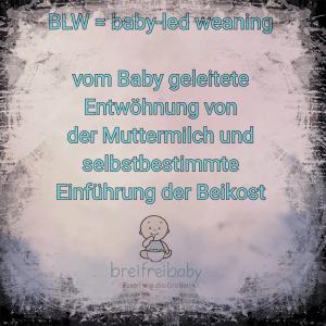 Was bedeutet baby-led weaning auf deutsch?