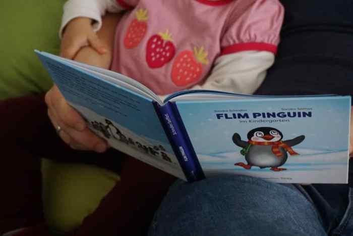 Kleiner Pinguin Flim im Kindergarten - bedürfnisorientierte Eingewöhnung