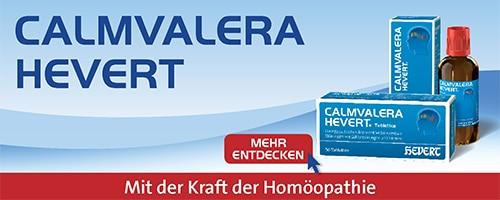Calmvalera Hevert Homöopatisches Mittel gegen Angstzustände und Stress