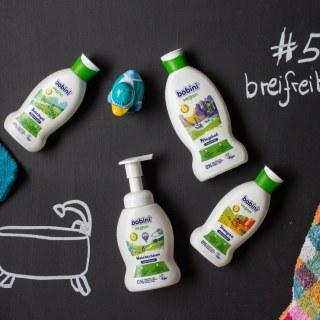 vegane Pflegeprodukte für Kinder - vegane Bobini Pflegeserie