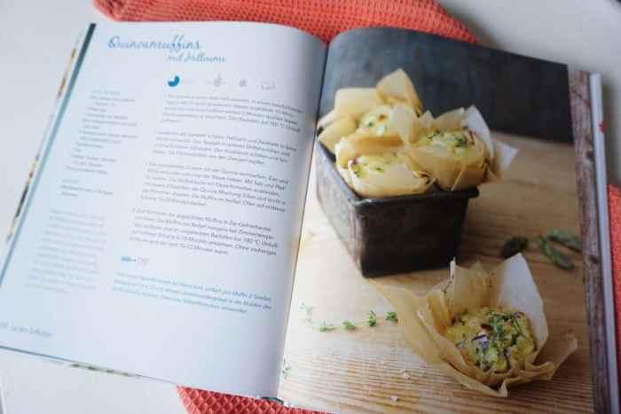Quinoa Muffins - vegetarische Rezepte