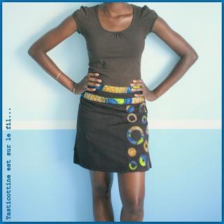modèle couture jupe